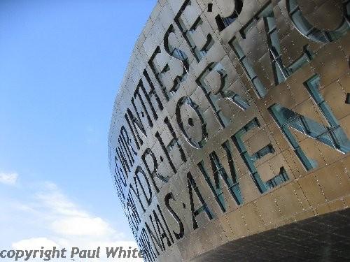 Millenium Building - Cardiff.