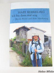 "Hape Kerkeling's book ""Ich bin dann mal weg"""