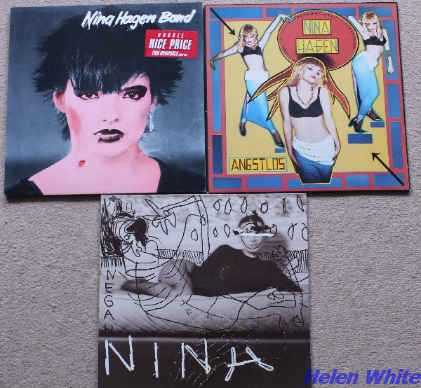 My records by Nina Hagen