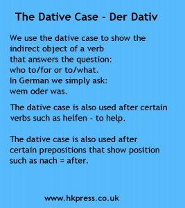 Dative case 1